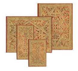 Kolekce diářů, adresářů a zápisníků Paperblanks Golden Pathway