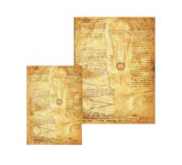 Kolekce diářů, adresářů a zápisníků Paperblanks Leonardo's Sketches