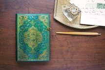 Paperblanks zápisník Turquoise Chronicles mini nelinkovaný 3217-5