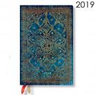 Diář Paperblanks 2019 Azure