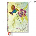 - Paperblanks diář 2019 Hummingbird mini verso 4891-6