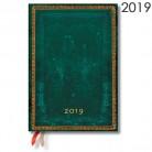 Diář Paperblanks 2019 Viridian