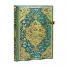 - Paperblanks zápisník Turquoise Chronicles midi linkovaný 3214-4